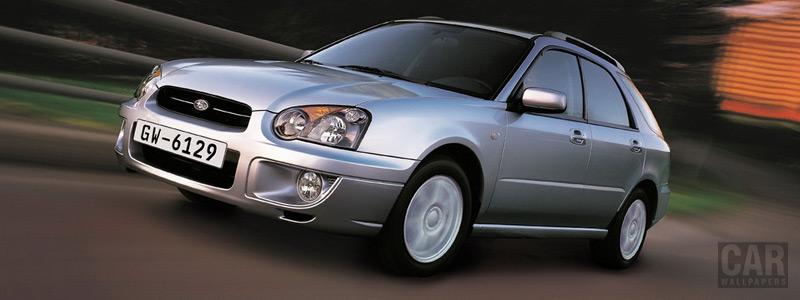 Cars wallpapers Subaru Impreza Sports Wagon 2.0 GX - 2004 - Car wallpapers
