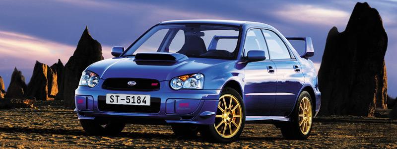 Cars wallpapers Subaru Impreza WRX STi - 2004 - Car wallpapers