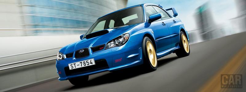 Cars wallpapers Subaru Impreza WRX STI - 2005 - Car wallpapers