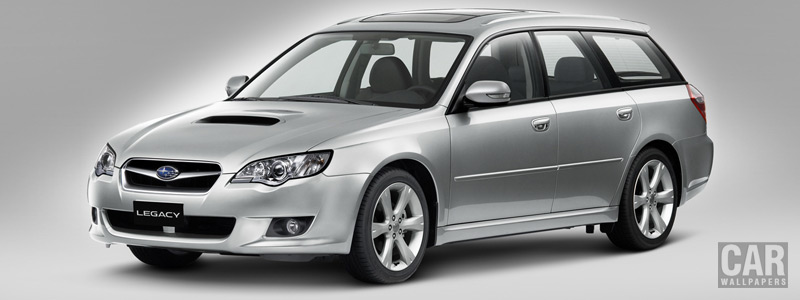 Cars wallpapers Subaru Legacy Station Wagon 2.0D - 2008 - Car wallpapers