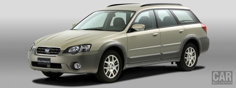 Cars wallpapers Subaru Outback 25i - 2004 - Car wallpapers