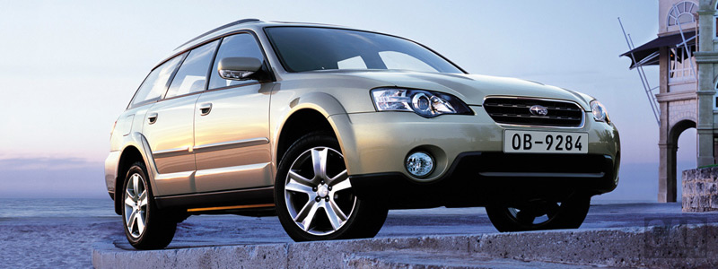 Cars wallpapers Subaru Outback 30R - 2004 - Car wallpapers