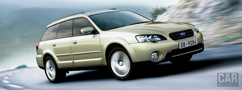 Cars wallpapers Subaru Outback 30R - 2005 - Car wallpapers