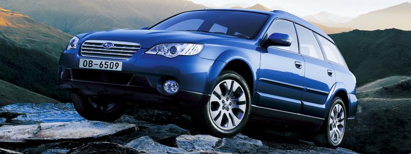 Cars wallpapers Subaru Outback 30R - 2006 - Car wallpapers