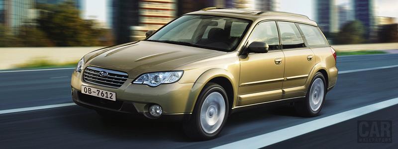 Cars wallpapers Subaru Outback 30R - 2007 - Car wallpapers
