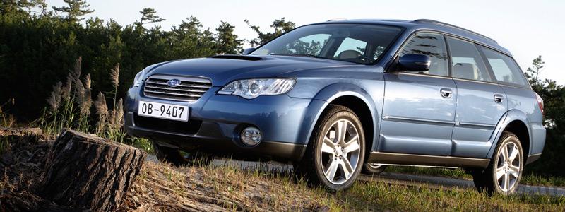 Cars wallpapers Subaru Outback 20D - 2008 - Car wallpapers
