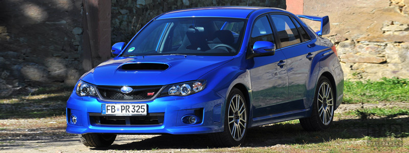 Обои автомобили Subaru WRX STI - 2011 - Car wallpapers