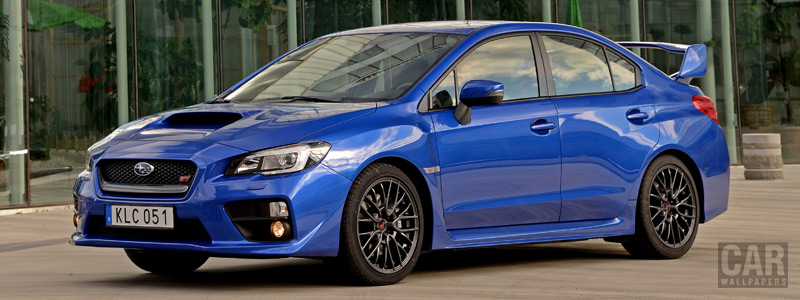 Обои автомобили Subaru WRX STI - 2015 - Car wallpapers
