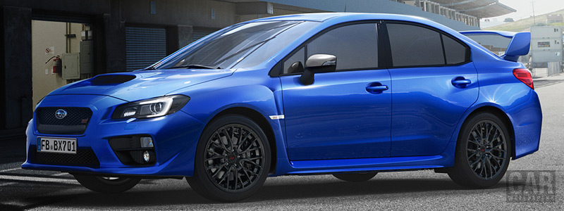 Обои автомобили Subaru WRX STI - 2017 - Car wallpapers