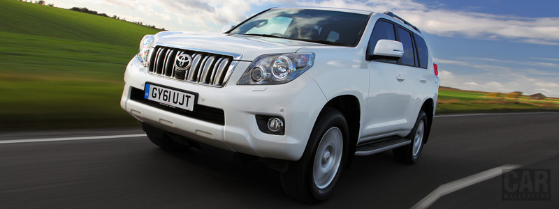 Обои автомобили Toyota Land Cruiser UK-spec - 2010 - Car wallpapers