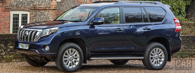 Обои автомобили Toyota Land Cruiser UK-spec - 2014 - Car wallpapers