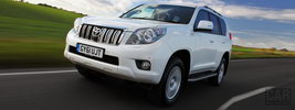 Toyota Land Cruiser UK-spec - 2010