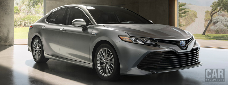 Обои автомобили Toyota Camry Hybrid XLE US-spec - 2017 - Car wallpapers