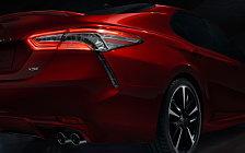 Обои автомобили Toyota Camry XSE US-spec - 2017