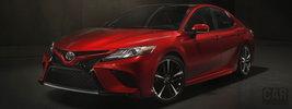 Toyota Camry XSE US-spec - 2017