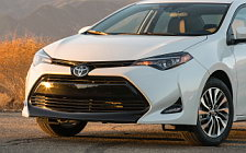 Cars wallpapers Toyota Corolla LE Eco US-spec - 2016