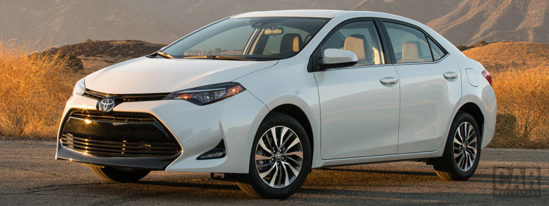Cars wallpapers Toyota Corolla LE Eco US-spec - 2016 - Car wallpapers