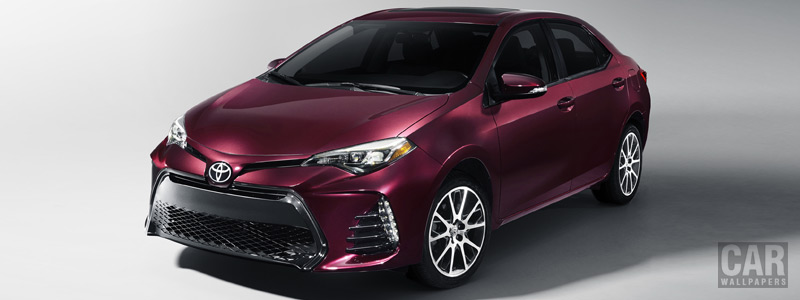 Обои автомобили Toyota Corolla SE 50th Anniversary US-spec - 2016 - Car wallpapers