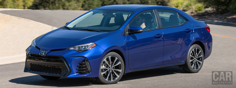 Cars wallpapers Toyota Corolla SE US-spec - 2016 - Car wallpapers