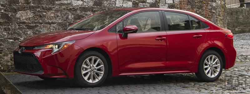 Обои автомобили Toyota Corolla LE Sedan US-spec - 2019 - Car wallpapers