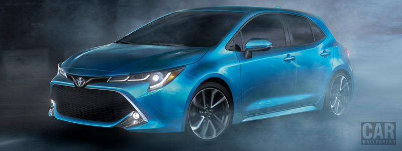Обои автомобили Toyota Corolla XSE Hatchback US-spec - 2019 - Car wallpapers