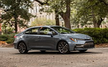 Обои автомобили Toyota Corolla XSE Sedan US-spec - 2019