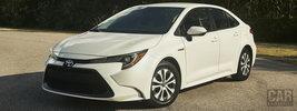 Toyota Corolla LE Hybrid Sedan US-spec - 2019