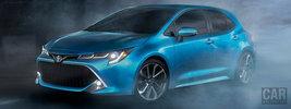 Toyota Corolla XSE Hatchback US-spec - 2019
