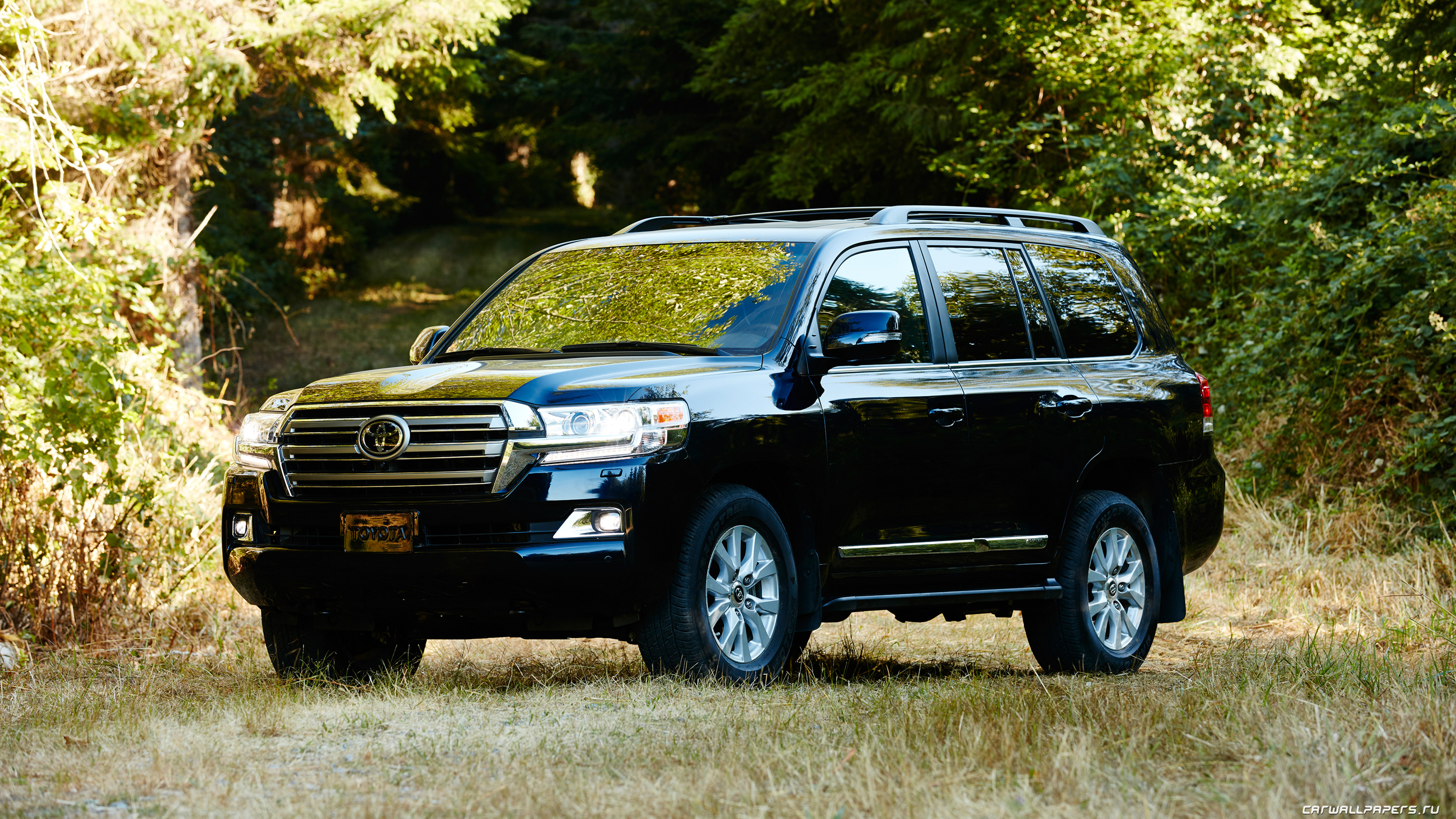Cars Desktop Wallpapers Toyota Land Cruiser 200 Us Spec 2016