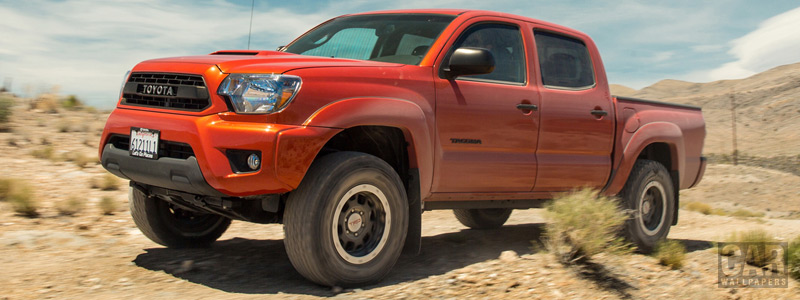 Обои автомобили Toyota Tacoma TRD Pro Double Cab - 2014 - Car wallpapers