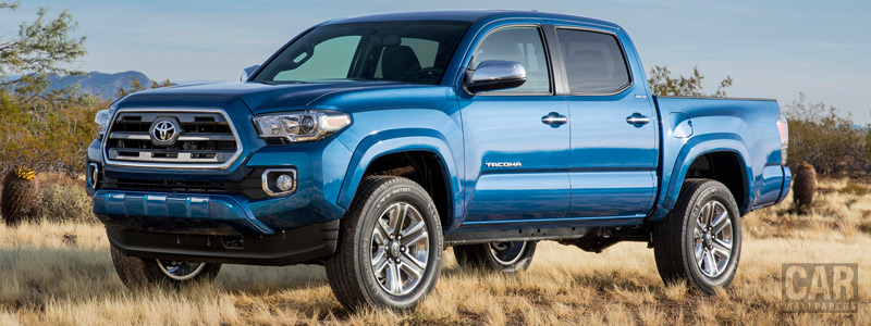 Обои автомобили Toyota Tacoma Limited Double Cab - 2015 - Car wallpapers