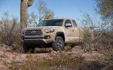 Обои автомобили Toyota Tacoma TRD Off-Road Access Cab - 2015