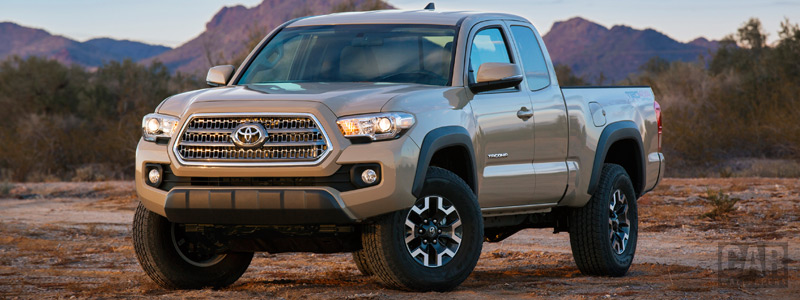 Обои автомобили Toyota Tacoma TRD Off-Road Access Cab - 2015 - Car wallpapers