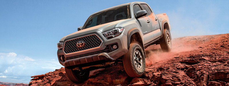 Обои автомобили Toyota Tacoma TRD Off-Road Double Cab - 2017 - Car wallpapers