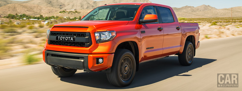 Обои автомобили Toyota Tundra TRD Pro CrewMax Cab - 2014 - Car wallpapers