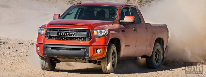 Обои автомобили Toyota Tundra TRD Pro Double Cab - 2014 - Car wallpapers