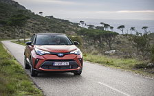Обои автомобили Toyota C-HR Hybrid (Orange) - 2019