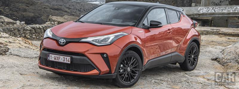 Обои автомобили Toyota C-HR Hybrid (Orange) - 2019 - Car wallpapers