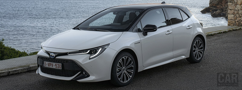 Обои автомобили Toyota Corolla Hatchback Hybrid 1.8L - 2019 - Car wallpapers