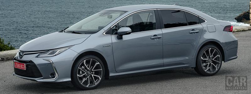 Обои автомобили Toyota Corolla Sedan Hybrid - 2019 - Car wallpapers