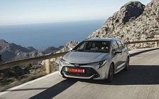 Обои автомобили Toyota Corolla Touring Sports Hybrid 1.8L - 2019