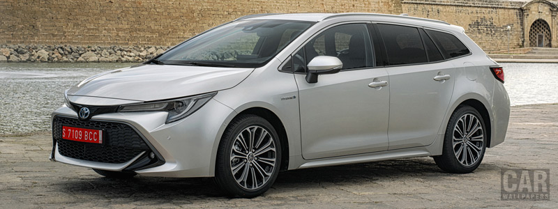 Обои автомобили Toyota Corolla Touring Sports Hybrid 1.8L - 2019 - Car wallpapers