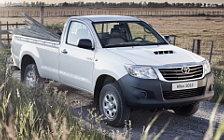 Обои автомобили Toyota Hilux Regular Cab - 2012