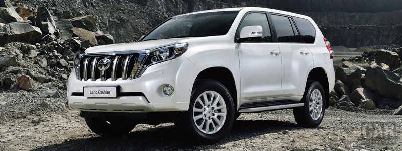 Обои автомобили Toyota Land Cruiser Prado - 2013 - Car wallpapers