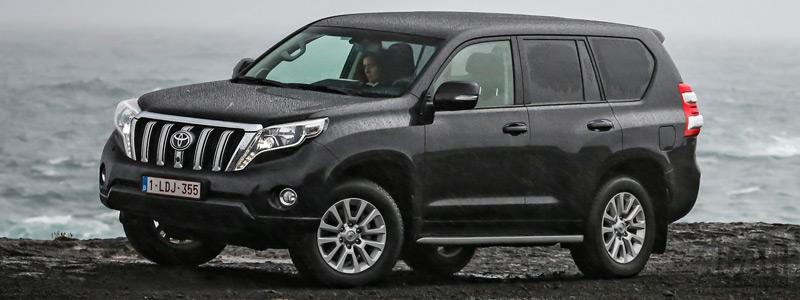 Обои автомобили Toyota Land Cruiser Prado - 2015 - Car wallpapers