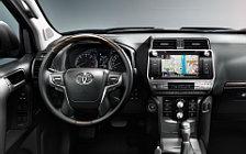 Обои автомобили Toyota Land Cruiser Prado - 2017