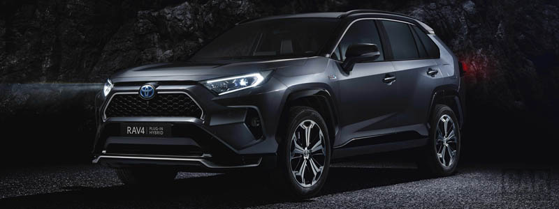Обои автомобили Toyota RAV4 Plug-in-Hybrid - 2020 - Car wallpapers