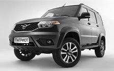 Обои автомобили УАЗ Патриот 3163 - 2016