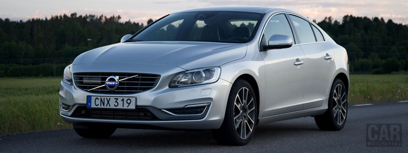 Обои автомобили Volvo S60 D4 - 2015 - Car wallpapers