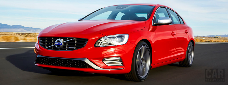 Обои автомобили Volvo S60 T6 AWD R-Design - 2015 - Car wallpapers